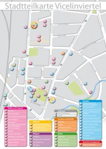 Stadtteilkarte Vicelinviertel